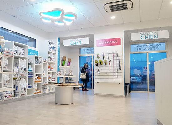 Athex - agencement clinique vétérinaire Vallet