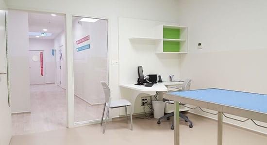 Athex - aménagement espace de soin