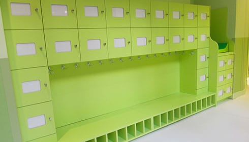 ATHEX - Agencement crèche - espace d'accueil