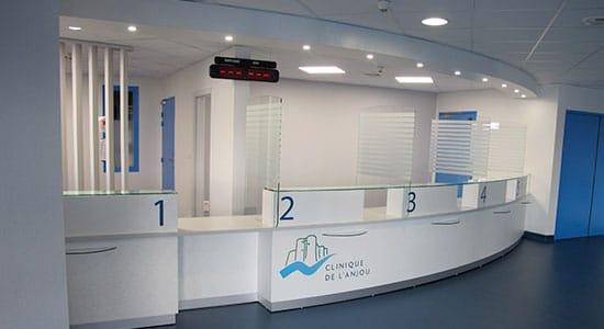 ATHEX - Aménagement espace d'accueil - établissement de santé