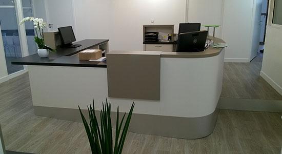 Athex - agencement clinique - espace d'accueil