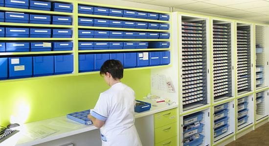 Athex - Agencement hôpital - plateau technique
