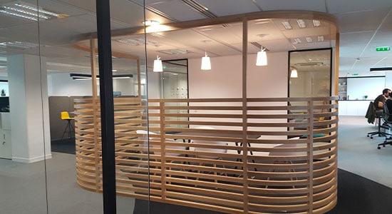 Athex - agencement siège social - espace de direction