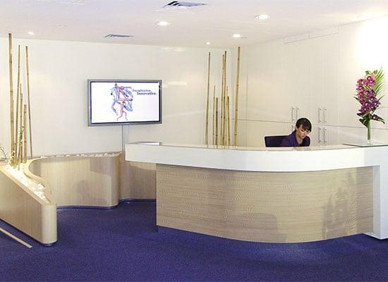 ATHEX - Aménagement espace d'accueil - meuble de réception