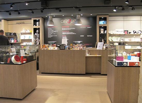 Athex - Aménagement espace de vente - mobilier merchandising