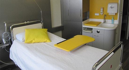 Athex, agencement santé, chambres de patients