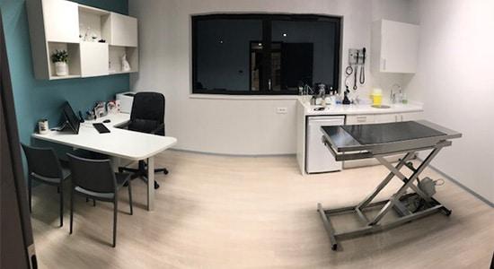 Athex, agencement santé, salle de soins