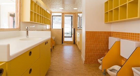 ATHEX - Agencement crèche - sanitaire