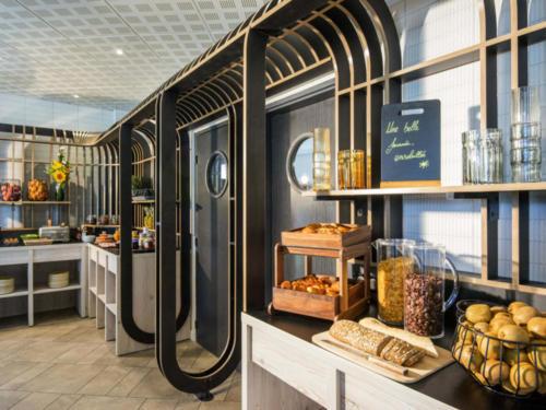 Agencement hôtel _ Espace restauration _ buffets