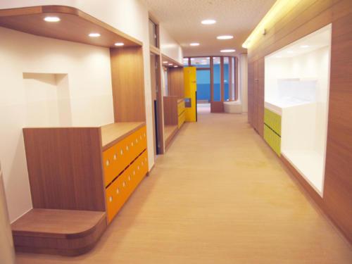 Espace d'accueil - Casiers Assise