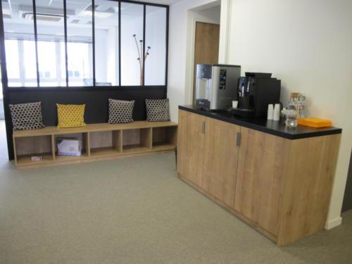 Espace de détente - banquette - café