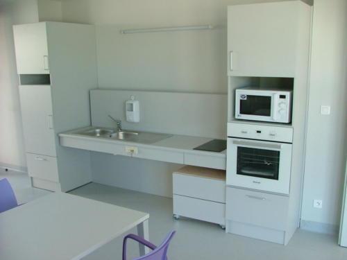Espace de détente - cuisine PMR
