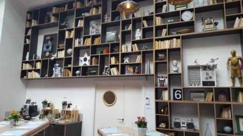 Espace de travail - bibliothèque