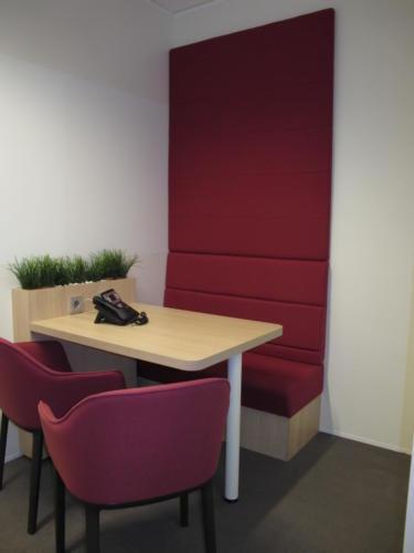 Espace de travail - bureau - banquette