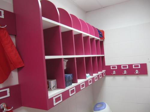 Espace de travail - casiers- vestaires