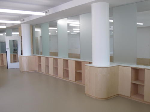 Espace de travail - casiers - vestiaires