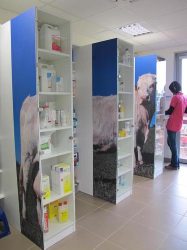 Espace de travail - pharmacie - rangement