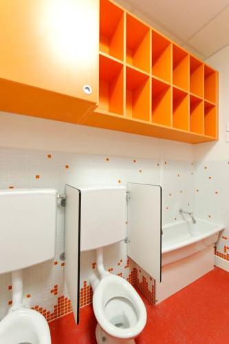 Espace de travail - séparateur WC - rangement