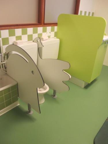 Espace de travail - séparateur wc
