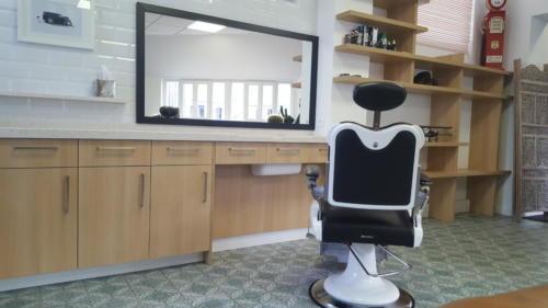 Espace de travail - salon de coiffure